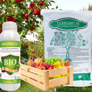 Tápanyagok és lombtrágyák, növény-kondícionálók